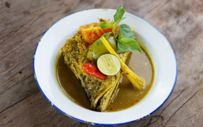 A bowl of goodness: Fish Head Soup