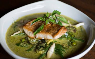 Green Curry of Snapper