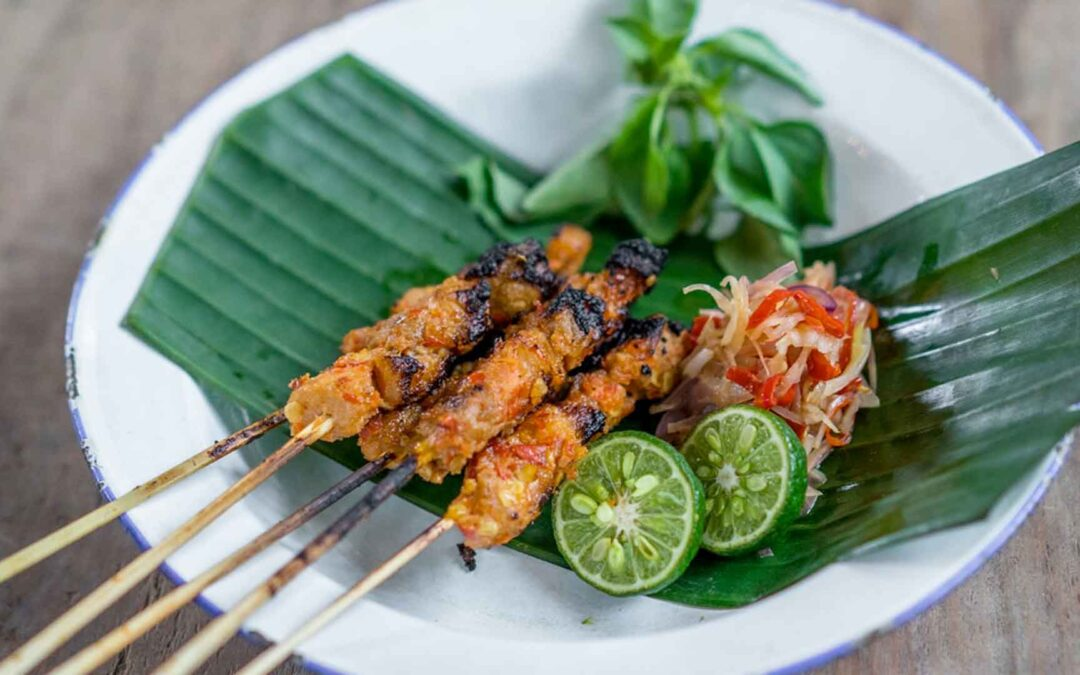 Pork Satay Balinese Style