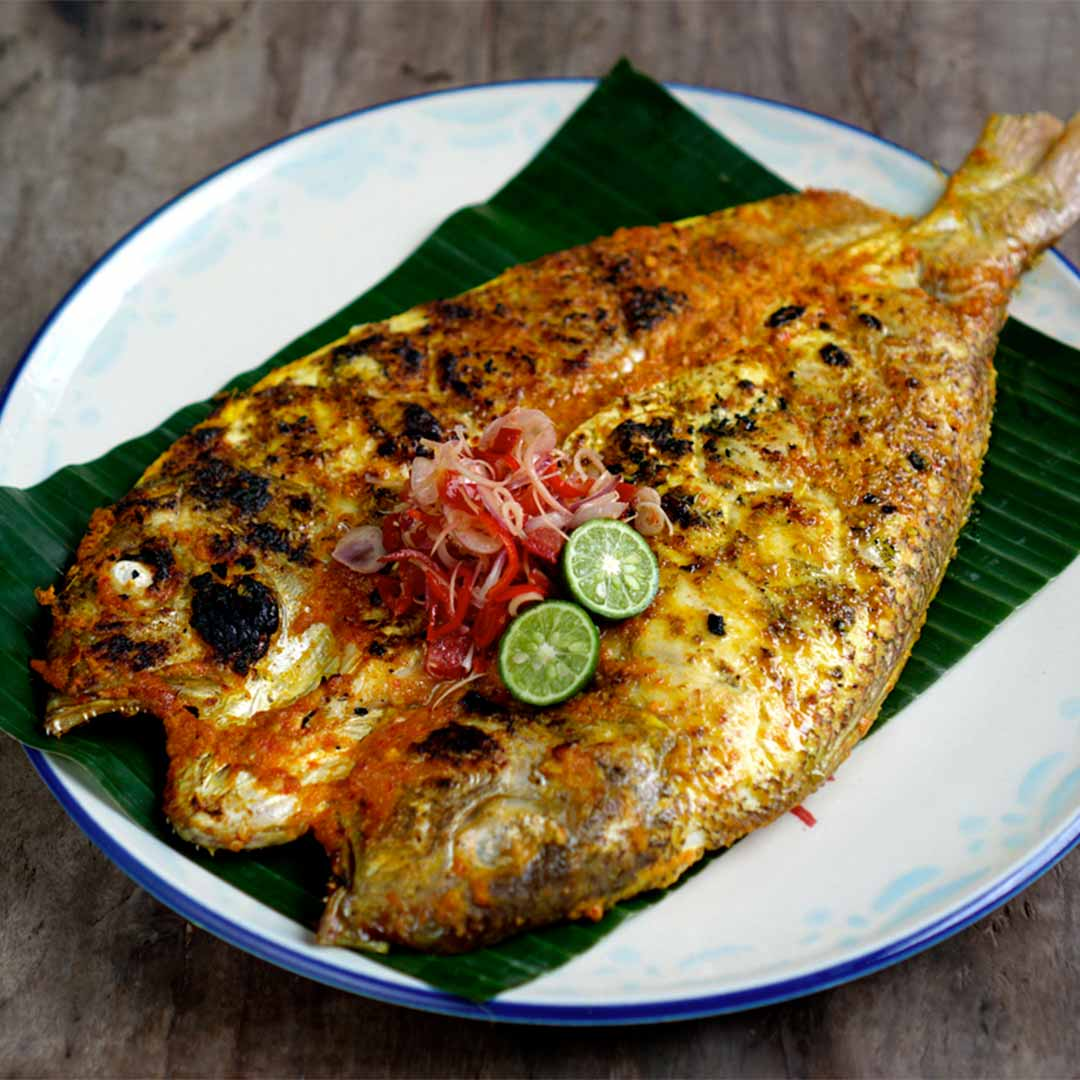 Jimbaran Style Grilled Fish - A Recipe by Will Meyrick