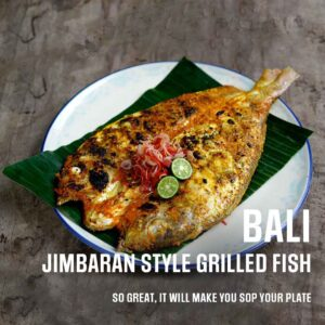 Will Meyrick Jimbaran Style Grilled Fish Recipe