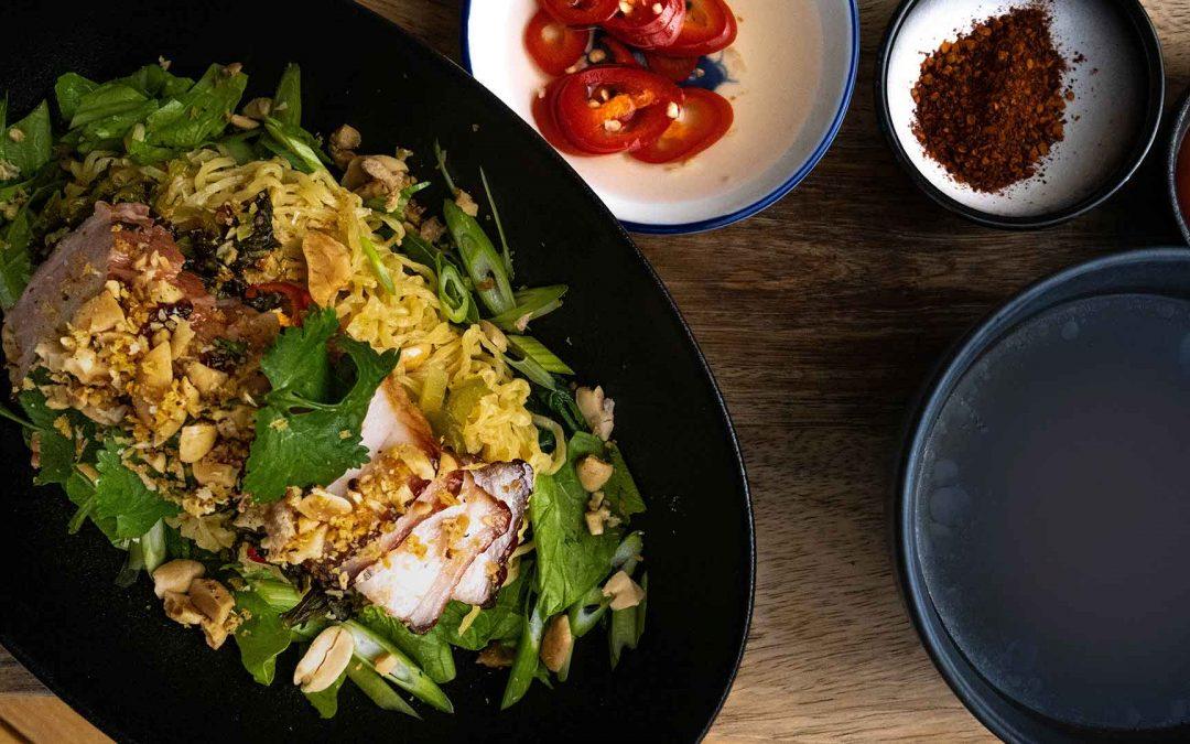 Amazing Roasted Pork Dry Noodles Recipe By Will Meyrick